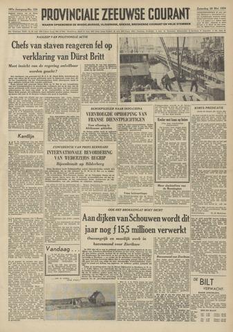 Provinciale Zeeuwse Courant 1954-05-29