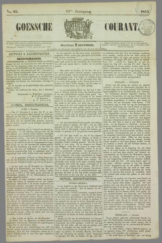 Goessche Courant 1855-12-03