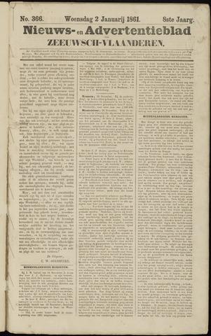 Ter Neuzensche Courant. Algemeen Nieuws- en Advertentieblad voor Zeeuwsch-Vlaanderen / Neuzensche Courant ... (idem) / (Algemeen) nieuws en advertentieblad voor Zeeuwsch-Vlaanderen 1861-01-02
