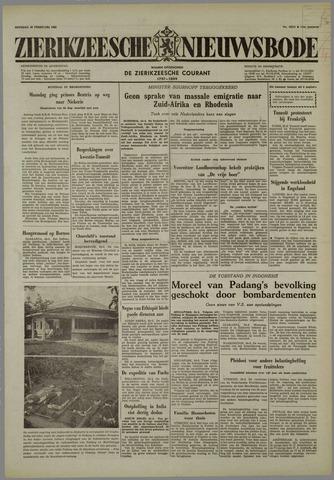 Zierikzeesche Nieuwsbode 1958-02-25