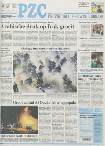 Provinciale Zeeuwse Courant 2002-09-16