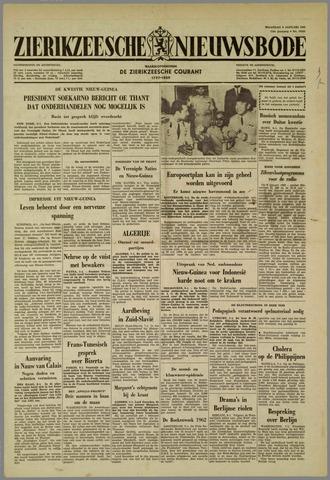 Zierikzeesche Nieuwsbode 1962-01-08