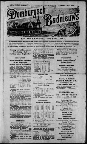 Domburgsch Badnieuws 1920
