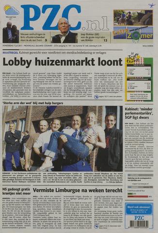 Provinciale Zeeuwse Courant 2011-07-07