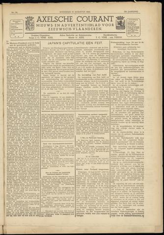 Axelsche Courant 1945-08-15
