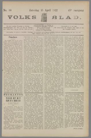 Volksblad 1922-04-15