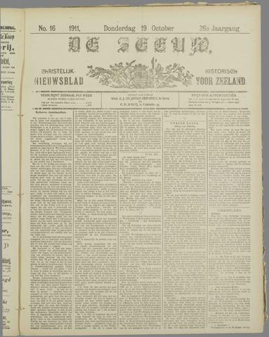 De Zeeuw. Christelijk-historisch nieuwsblad voor Zeeland 1911-10-19