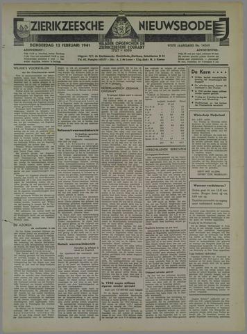 Zierikzeesche Nieuwsbode 1941-02-13