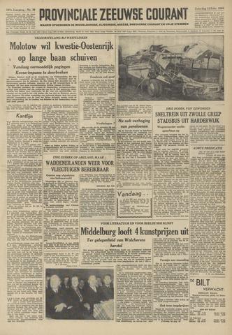 Provinciale Zeeuwse Courant 1954-02-13