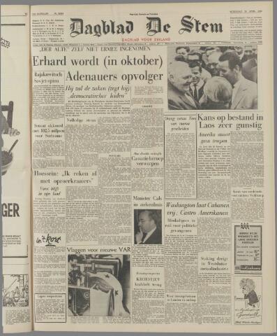 de Stem 1963-04-24
