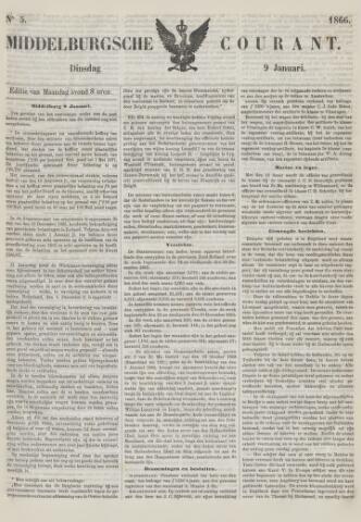 Middelburgsche Courant 1866-01-09