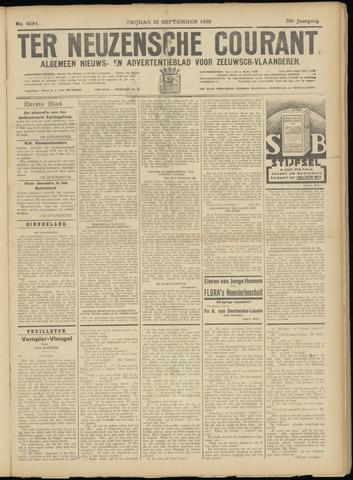 Ter Neuzensche Courant. Algemeen Nieuws- en Advertentieblad voor Zeeuwsch-Vlaanderen / Neuzensche Courant ... (idem) / (Algemeen) nieuws en advertentieblad voor Zeeuwsch-Vlaanderen 1930-09-26
