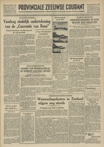 Provinciale Zeeuwse Courant 1952-05-26