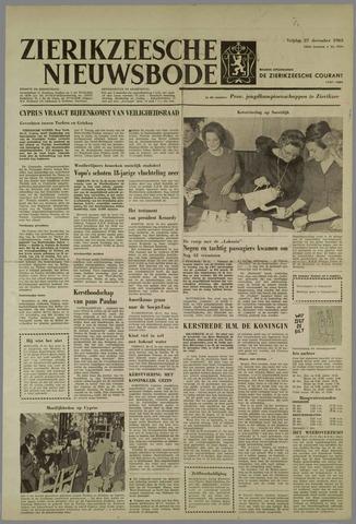 Zierikzeesche Nieuwsbode 1963-12-27