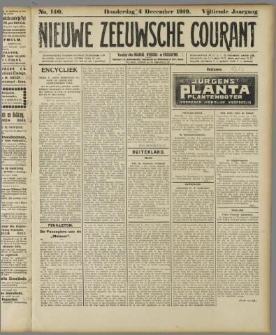 Nieuwe Zeeuwsche Courant 1919-12-04
