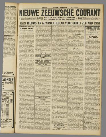 Nieuwe Zeeuwsche Courant 1929-11-09