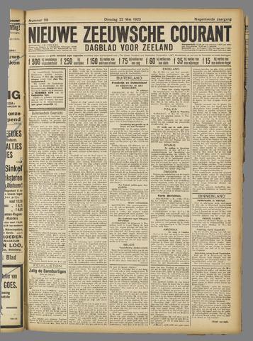 Nieuwe Zeeuwsche Courant 1923-05-22