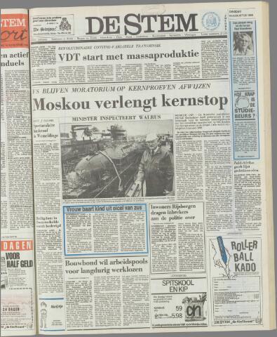 de Stem 1986-08-19