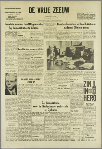 de Vrije Zeeuw 1965-07-23
