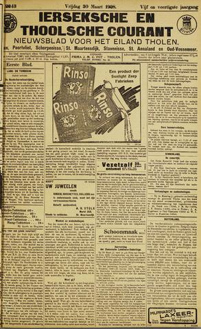 Ierseksche en Thoolsche Courant 1928-03-30