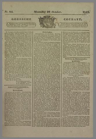 Goessche Courant 1845-10-20