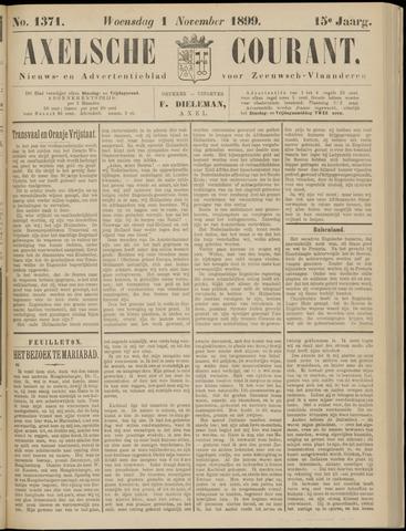 Axelsche Courant 1899-11-01