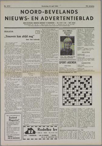 Noord-Bevelands Nieuws- en advertentieblad 1982-04-22
