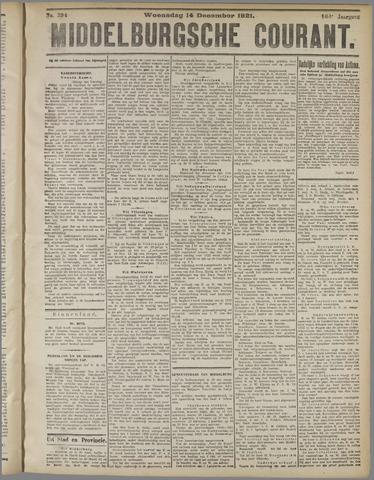 Middelburgsche Courant 1921-12-14