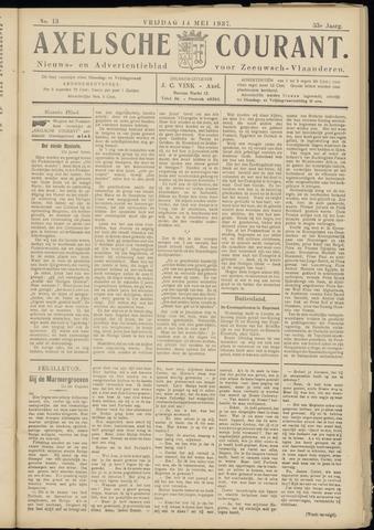 Axelsche Courant 1937-05-14