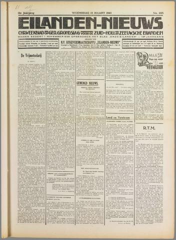 Eilanden-nieuws. Christelijk streekblad op gereformeerde grondslag 1940-03-13