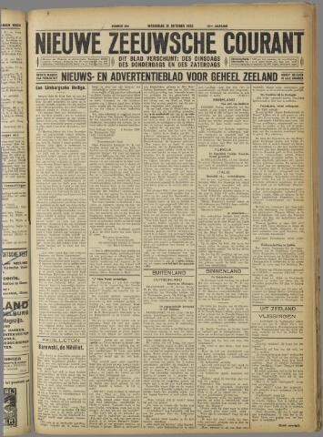 Nieuwe Zeeuwsche Courant 1923-10-31