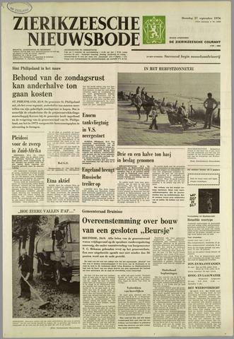 Zierikzeesche Nieuwsbode 1976-09-27