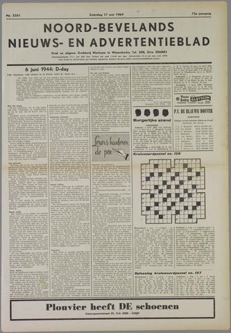 Noord-Bevelands Nieuws- en advertentieblad 1969-05-17