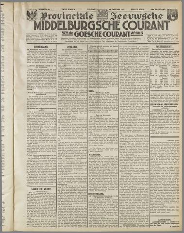 Middelburgsche Courant 1937-01-29