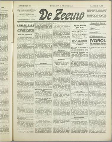 De Zeeuw. Christelijk-historisch nieuwsblad voor Zeeland 1934-06-23
