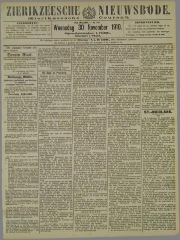 Zierikzeesche Nieuwsbode 1910-11-30