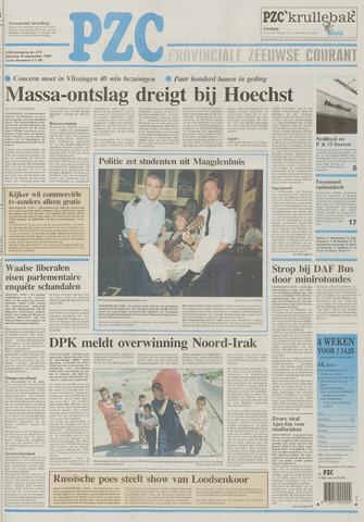 Provinciale Zeeuwse Courant 1996-09-10