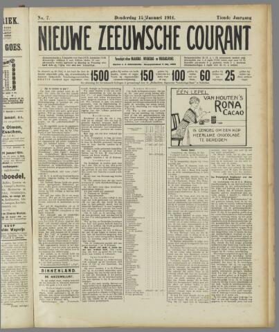 Nieuwe Zeeuwsche Courant 1914-01-15