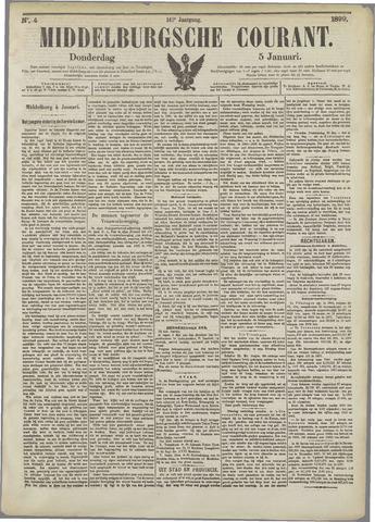 Middelburgsche Courant 1899-01-05
