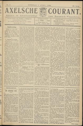 Axelsche Courant 1930-04-08
