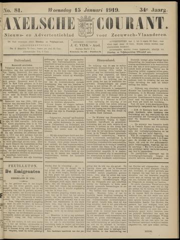Axelsche Courant 1919-01-15
