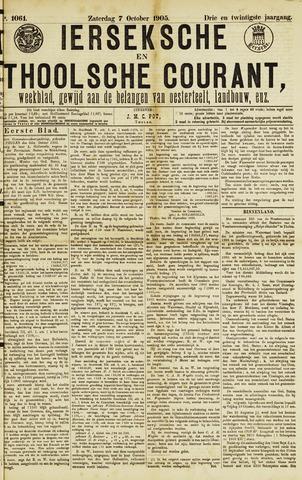 Ierseksche en Thoolsche Courant 1905-10-07