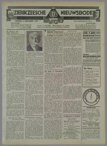 Zierikzeesche Nieuwsbode 1937-09-03
