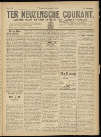 Ter Neuzensche Courant. Algemeen Nieuws- en Advertentieblad voor Zeeuwsch-Vlaanderen / Neuzensche Courant ... (idem) / (Algemeen) nieuws en advertentieblad voor Zeeuwsch-Vlaanderen 1933-03-17