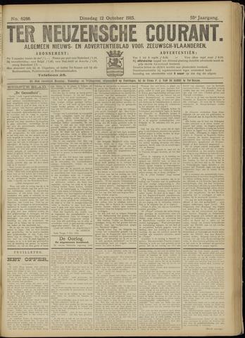 Ter Neuzensche Courant. Algemeen Nieuws- en Advertentieblad voor Zeeuwsch-Vlaanderen / Neuzensche Courant ... (idem) / (Algemeen) nieuws en advertentieblad voor Zeeuwsch-Vlaanderen 1915-10-12