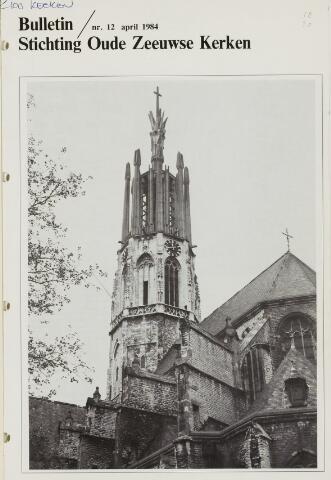 Bulletin Stichting Oude Zeeuwse kerken 1984