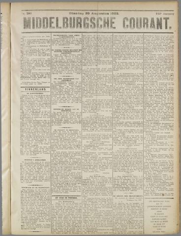 Middelburgsche Courant 1922-08-29