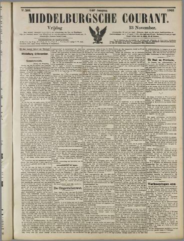 Middelburgsche Courant 1903-11-13
