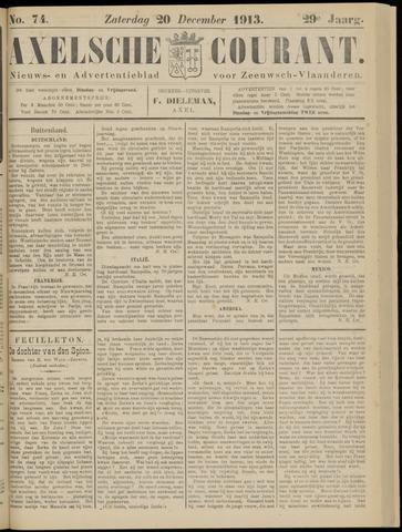 Axelsche Courant 1913-12-20