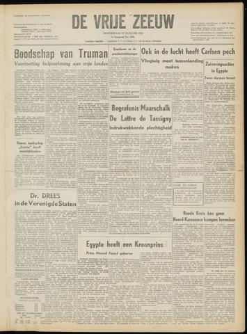 de Vrije Zeeuw 1952-01-17